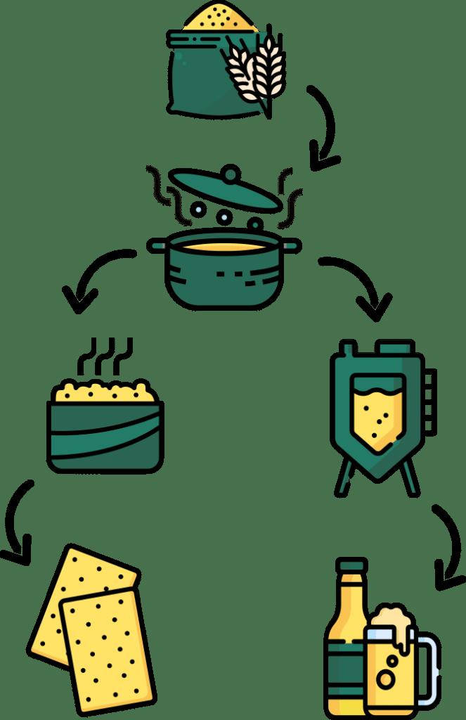 Ouro biscuiterie circulaire le cycle des céréales